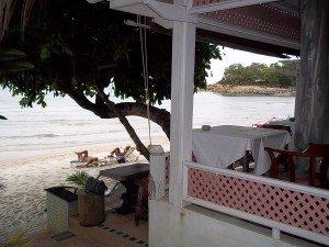 Sans Souci beach