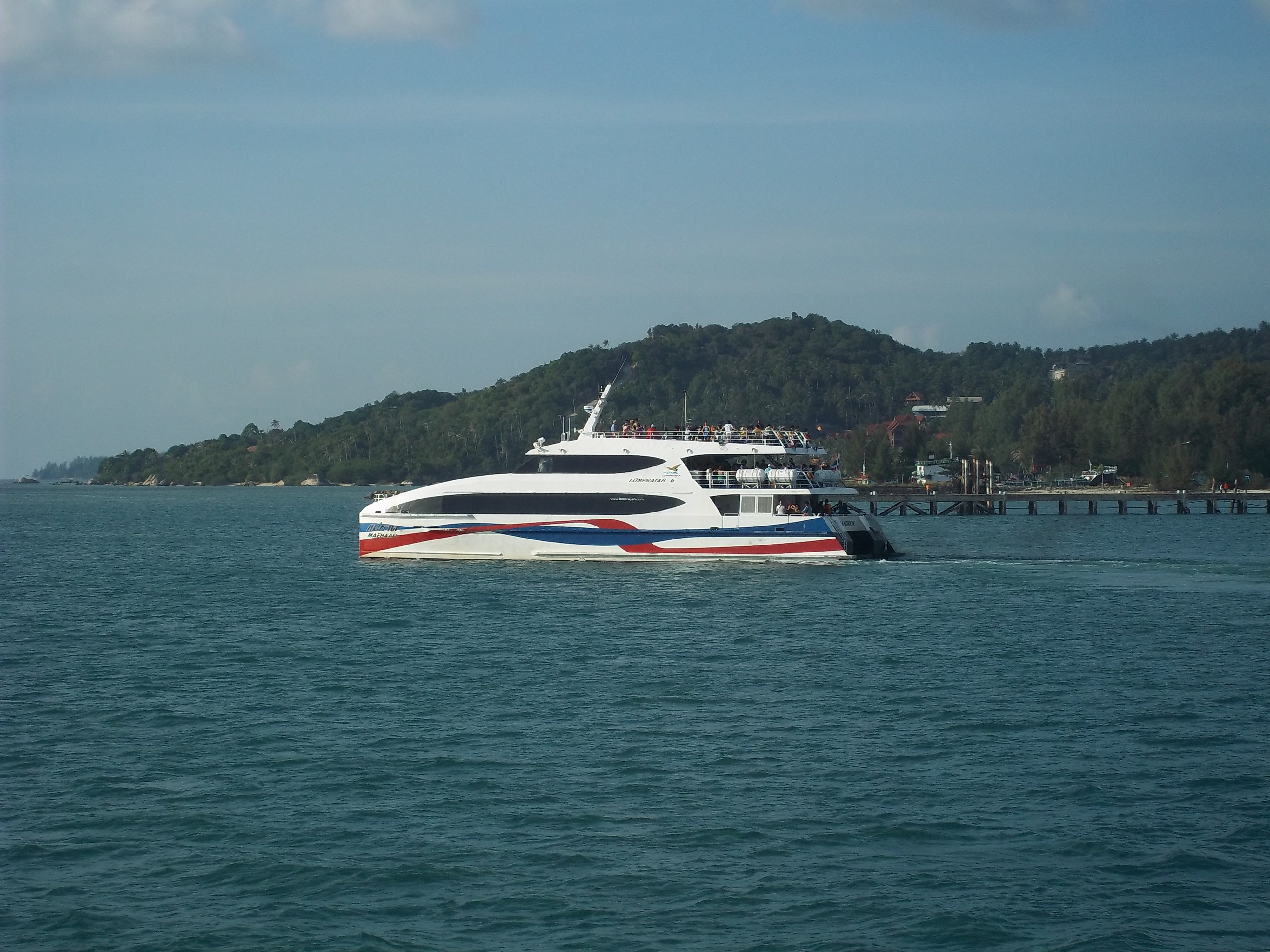Lomprayah hi speed ferry