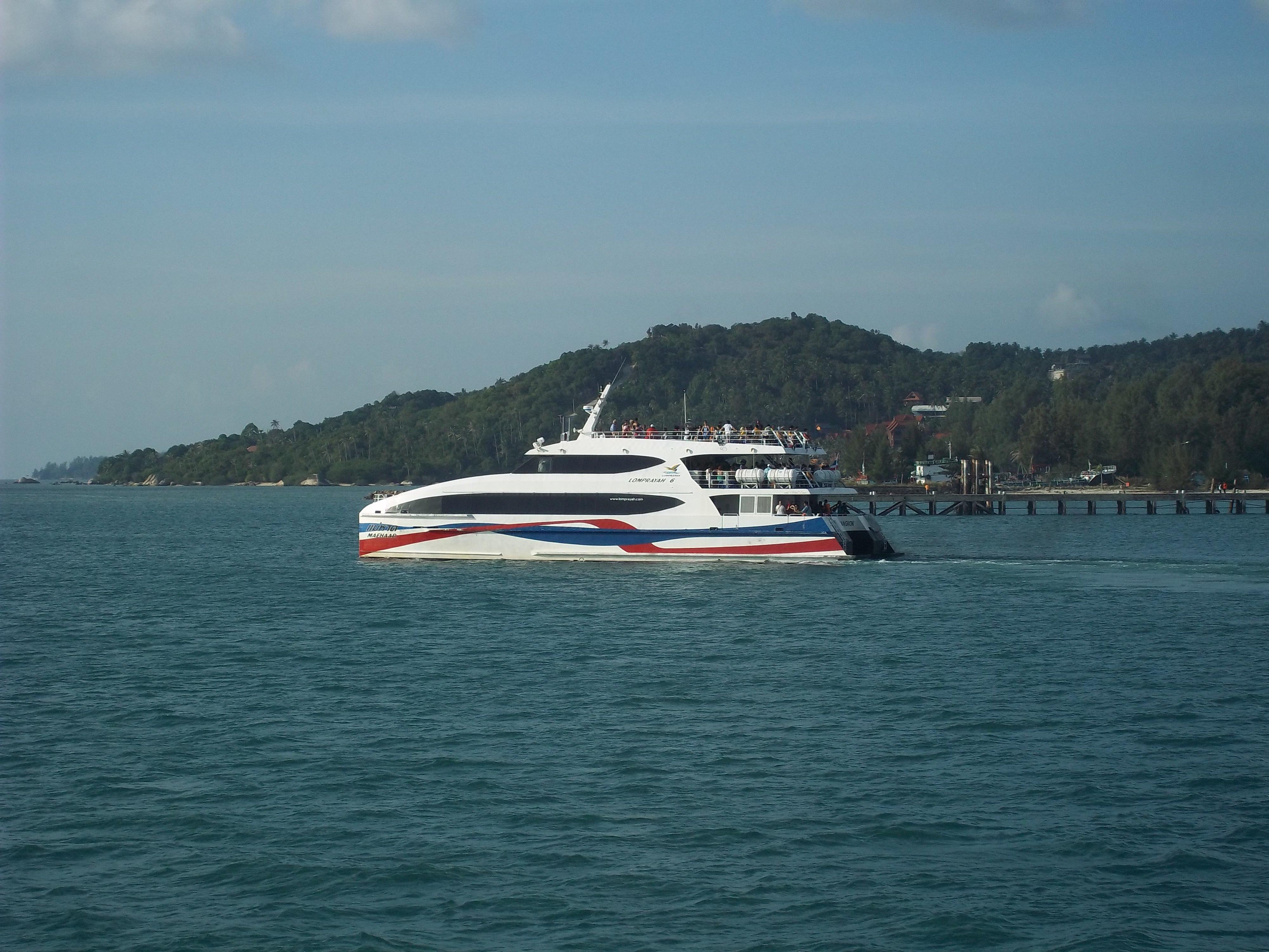 Lomprayah hi speed ferry