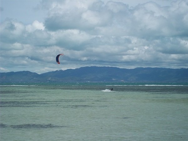 Kite surfing in Koh Phangan