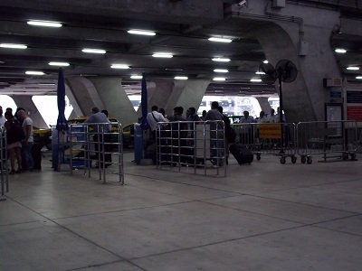 Suvarnabhumi Airport Taxi Queues