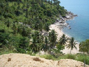 Haad Nam Tok is one of the many deserted beaches in Koh Phangan
