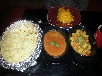 Indian Food at Havans Beach Resort