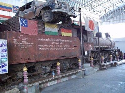 World War II & JEARTH War Museum train