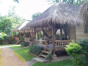 Accommodation at the Pai Village Resort is in bungalows