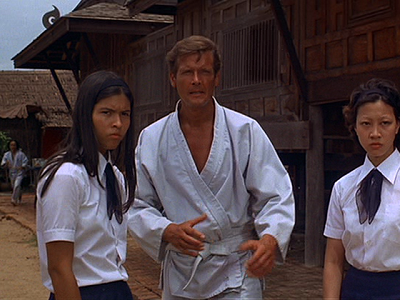 James Bond at the Karate School (Muang Boran)