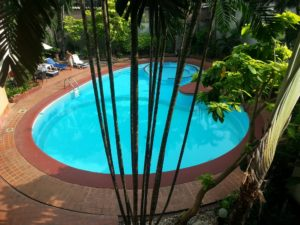 Swimming Pool at the Manhattan Hotel Bangkok