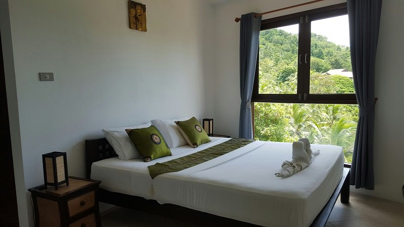 Bedroom Sunrise Villa, Koh Phangan