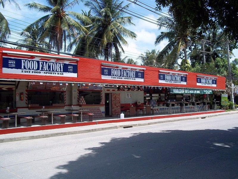 Food Factory, Koh Phangan