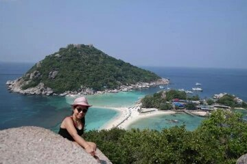 Koh Nangyuan viewpoint