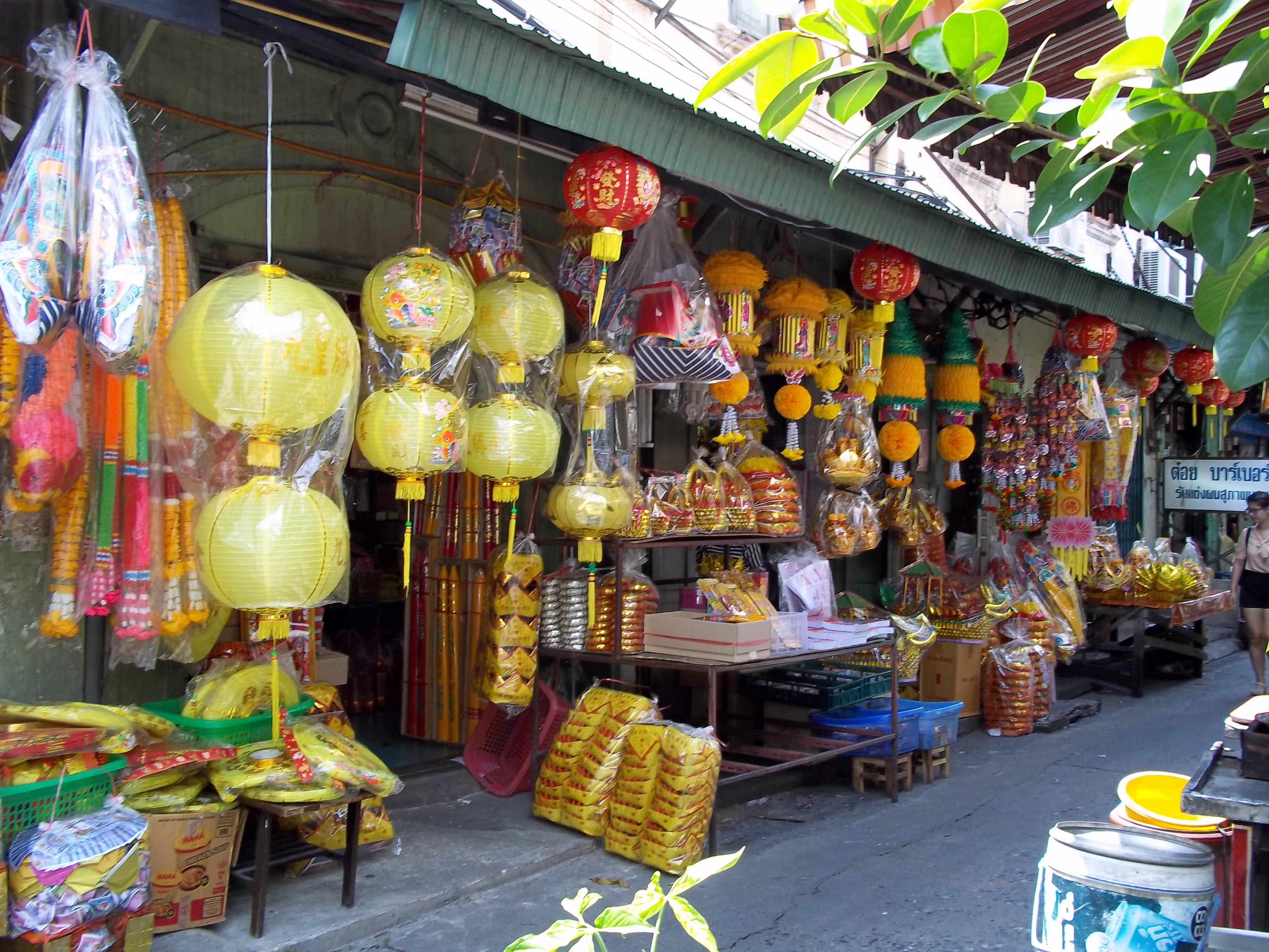 Sampeng Lane Market, Chinatown, Bangkok