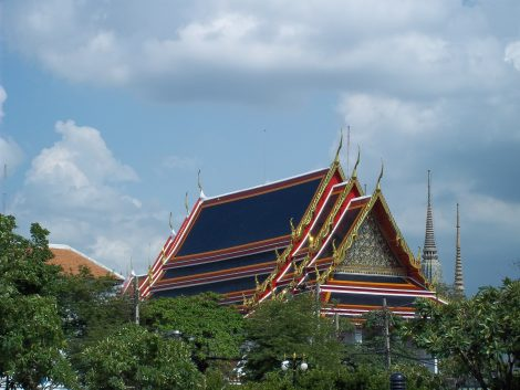 Thailand's Nation Museum in Bangkok