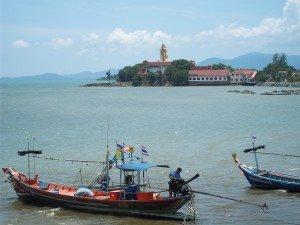 Koh Samui's Big Buddha in the distance