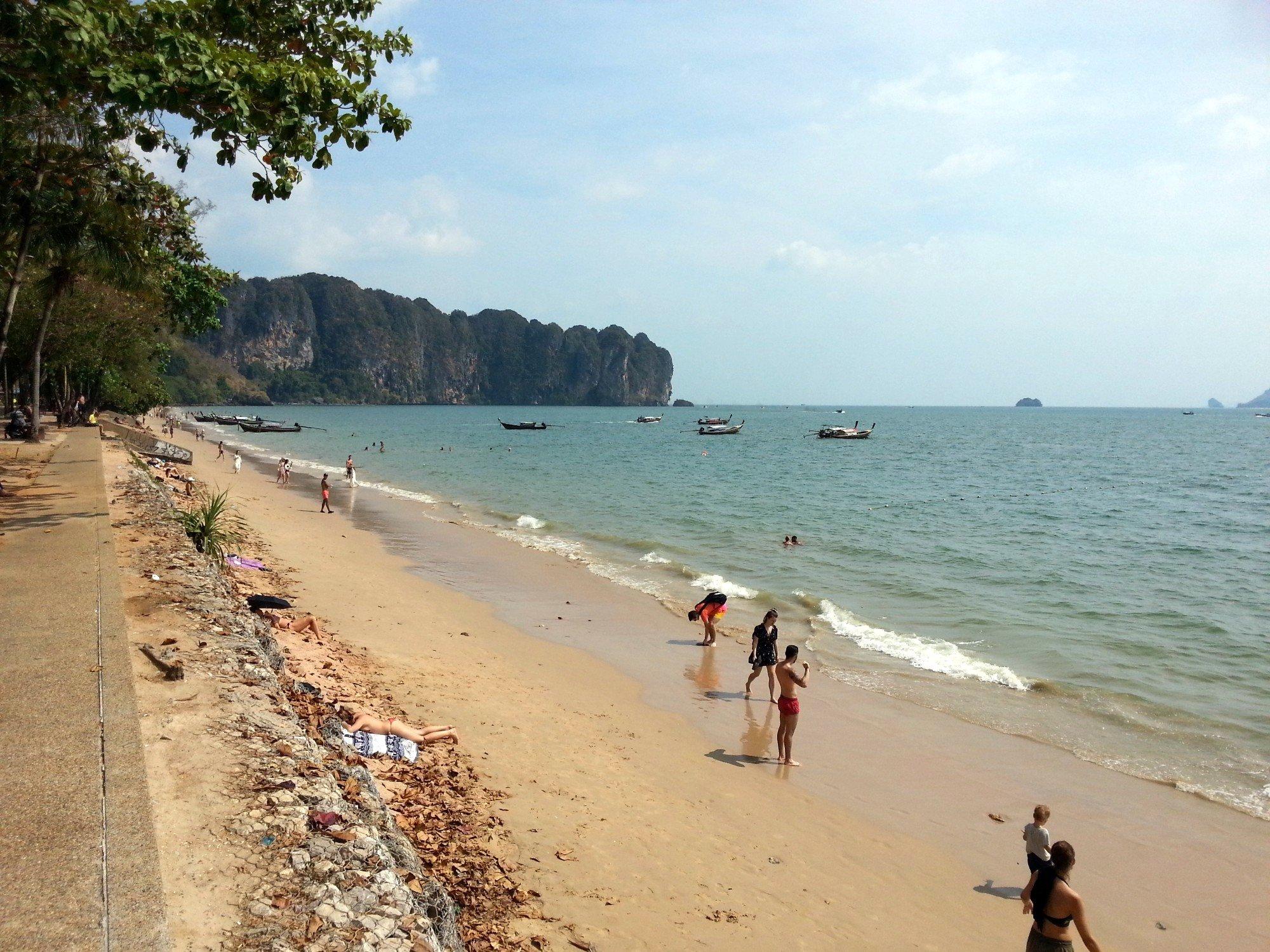 Ao Nang Beach in Krabi
