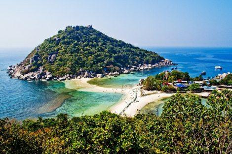 Koh Nang Yuan island near Koh Tao