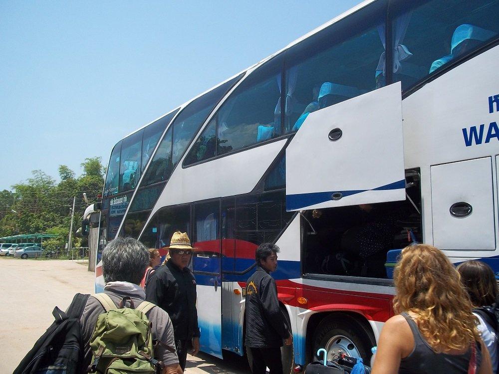 Lomprayah bus to Phuket