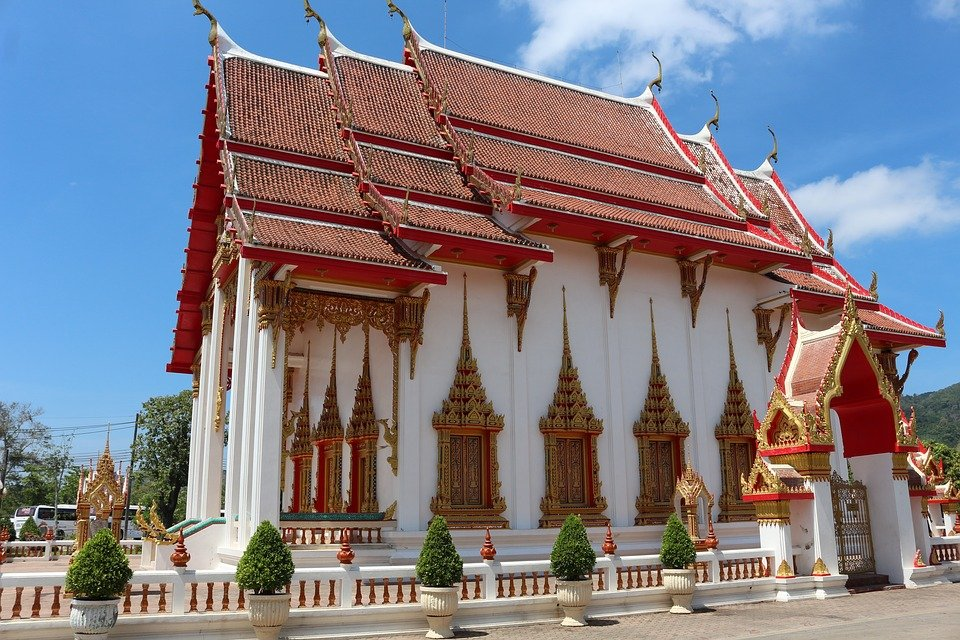 Watchalong Temple in Phuket