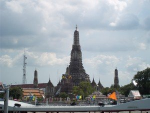 Wat Arun, a riverside temple in Bangkok