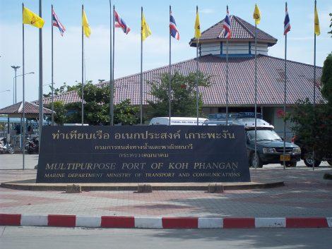 Services from Koh Phi Phi to Koh Phangan terminate at Thong Sala Pier