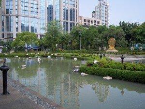 Benjasiri Park in Central Bangkok