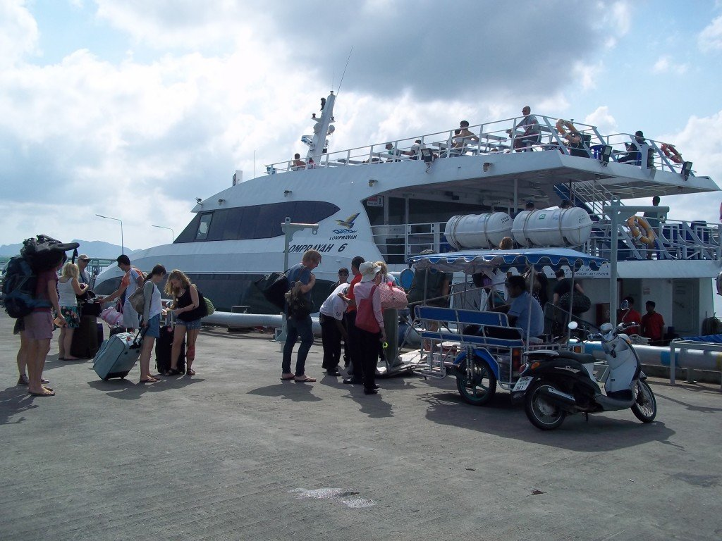 Ferry from Surat Thani to Koh Phangan