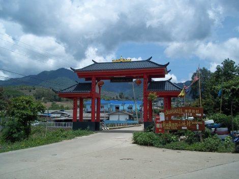 Chinese Village near Pai