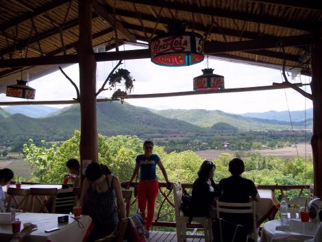 The famous Coffee in Love near Pai