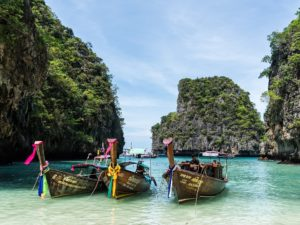 Koh Phi Phi has beautiful beaches