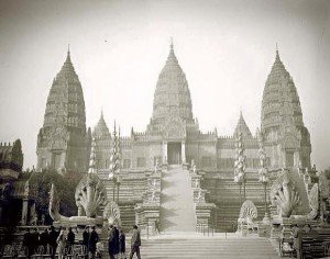 Angkor Wat was 'rediscovered' in the mid 1800s
