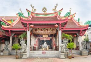 Chinese temple in Phuket Town