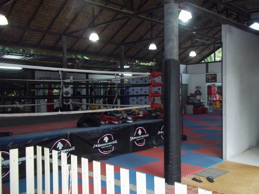 Muay Thai Gym at the Wimaan Buri