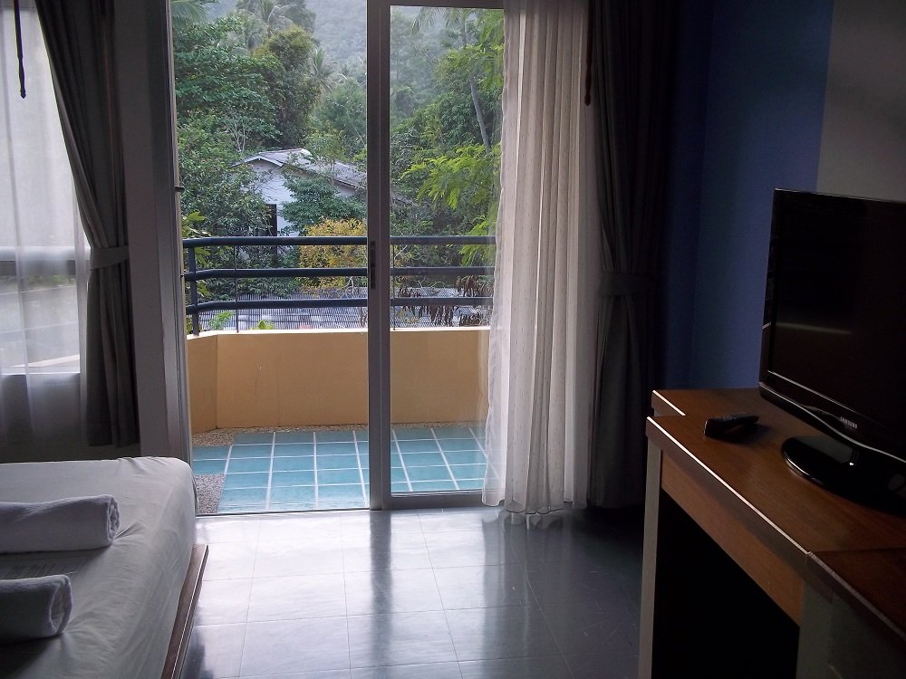 Wimaan Buri balcony