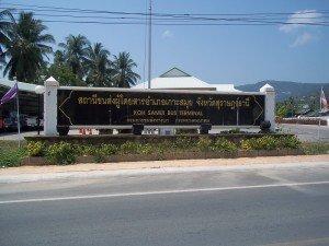 Koh Samui Bus Station