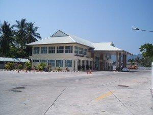 Koh Samui Bus Terminal Building
