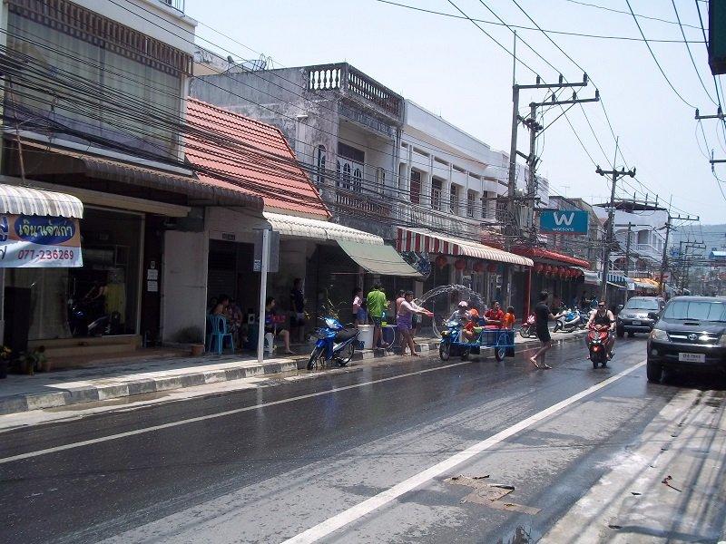 Songkran no one escapes