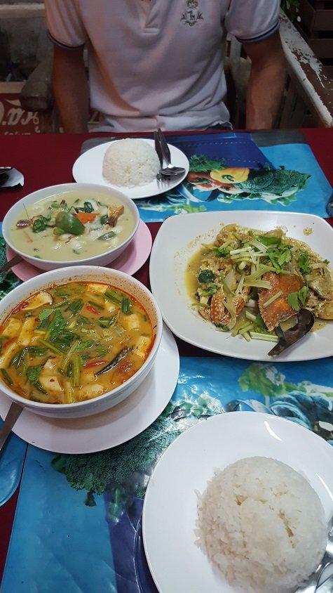 Food at Krua Savoiey, Nathon Koh Samui