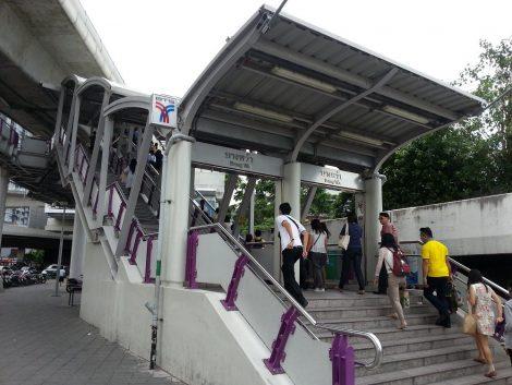 Bang Wa BTS station is the closest to Sai Tai Mai bus station
