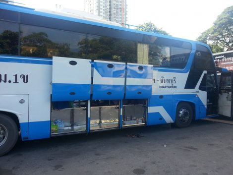 Bus to Chanthaburi