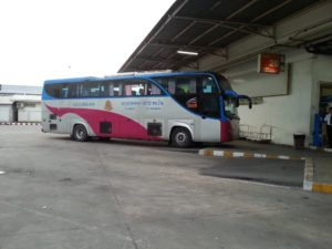 Bus to Koh Phangan at Sai Tai Bus Station