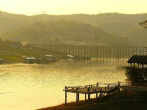 Mon Bridge at Sangkhlaburi
