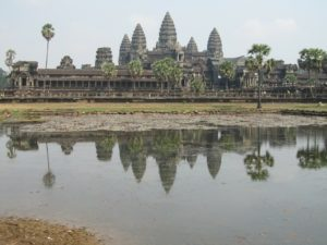 Angkhor Wat in Cambodia