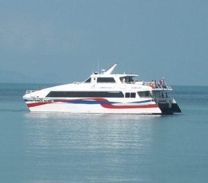 Lomprayah Ferry from Koh Phangan to Nakhon Si Thammarat Airport