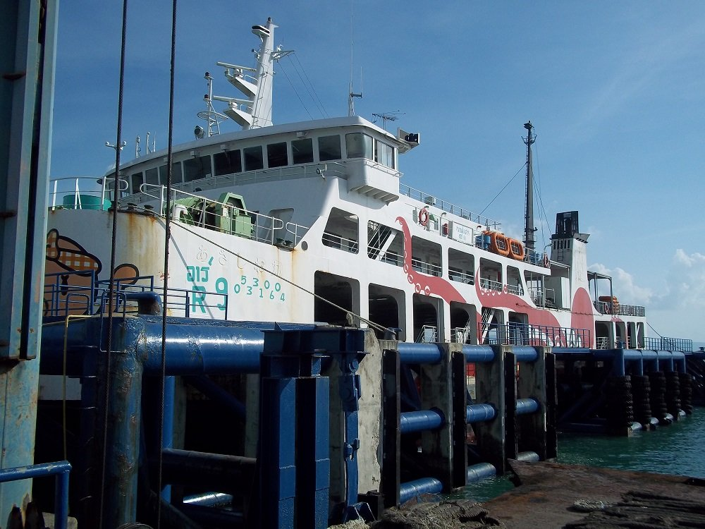 Raja Ferry from Koh Phangan to Donsak
