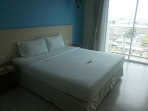 Bed at the Prachuap Grand Hotel