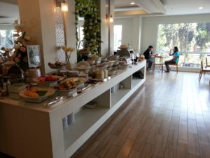 Breakfast at the Prachuap Grand Hotel
