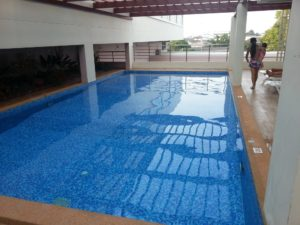 Swimming Pool at the Prachuap Grand Hotel