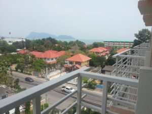View from the Prachuap Grand Hotel