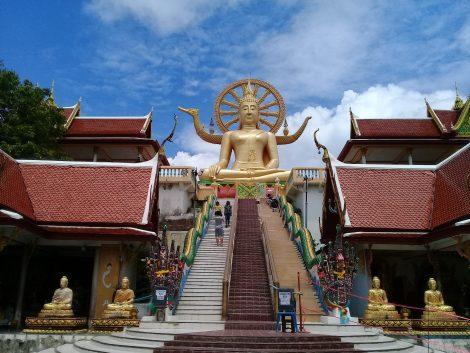 Big Buddha Temple in Koh Samui