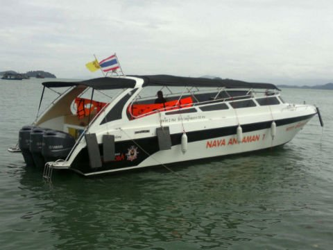 Speedboat to Koh Phayam
