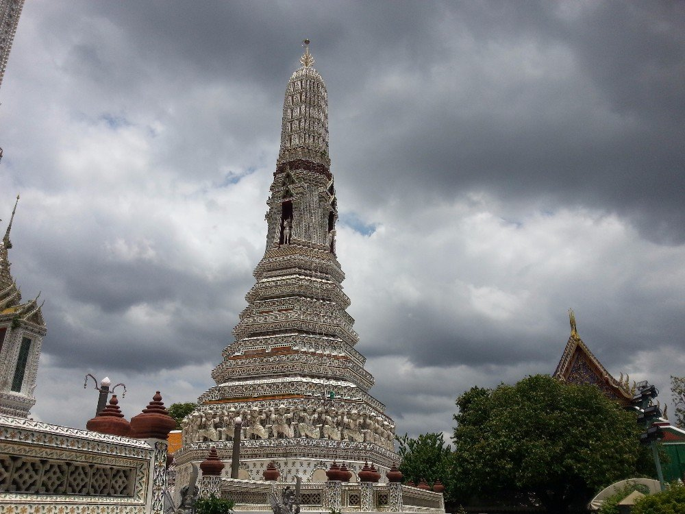 Prang at Wat Arun